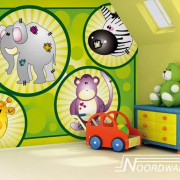 Baby en kinderkamer behang