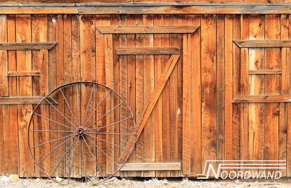 Foto behang The Barn Noordwand