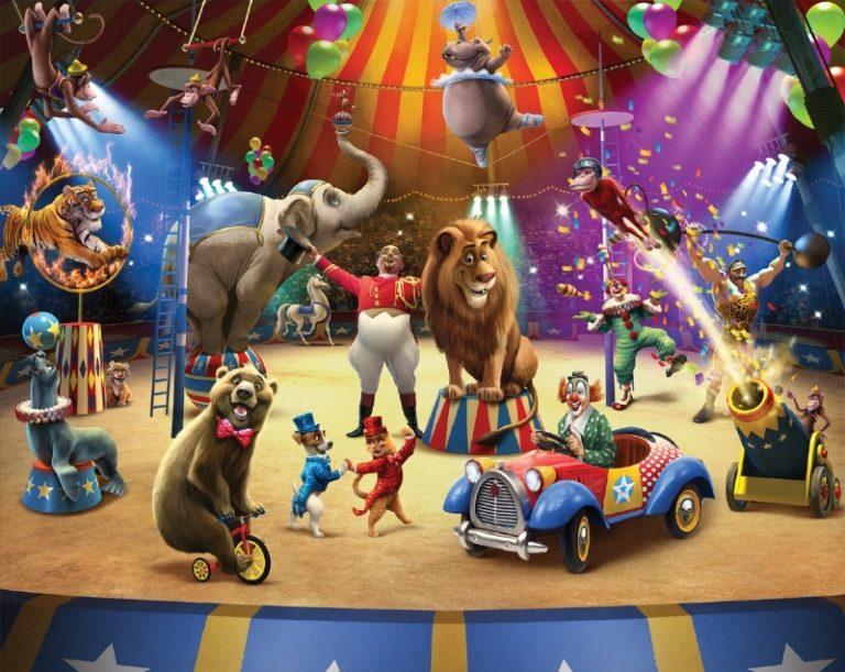 Foto behang Circus 42834