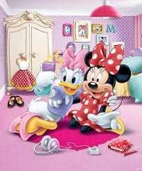 Foto behang Minnie Mouse 43077