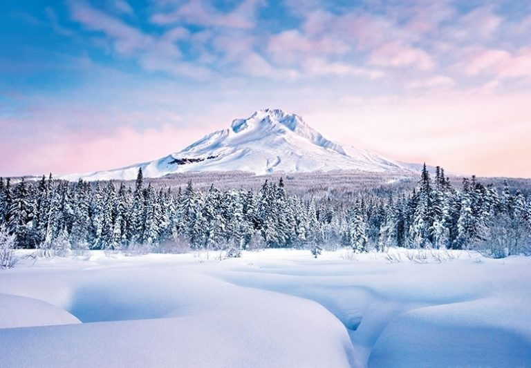 Foto behang Mountain Graceful 00124