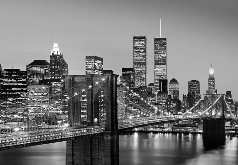 Foto behang Manhattan Skyline 00138