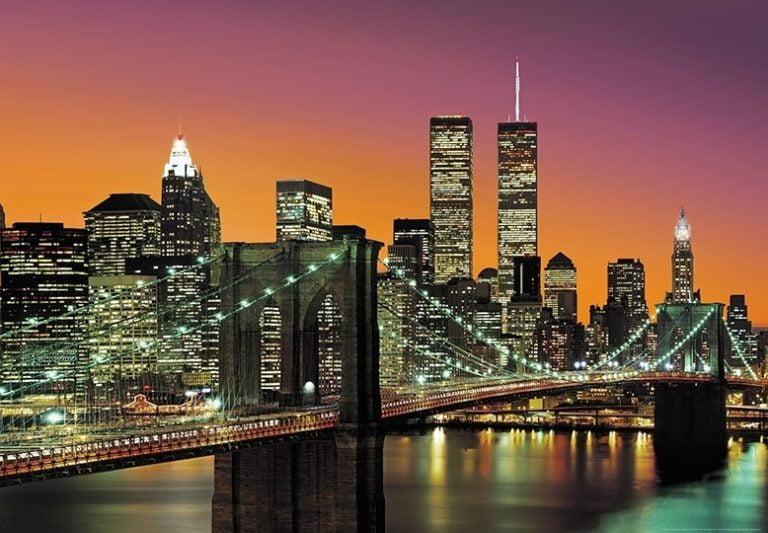 Foto behang New York City 00139