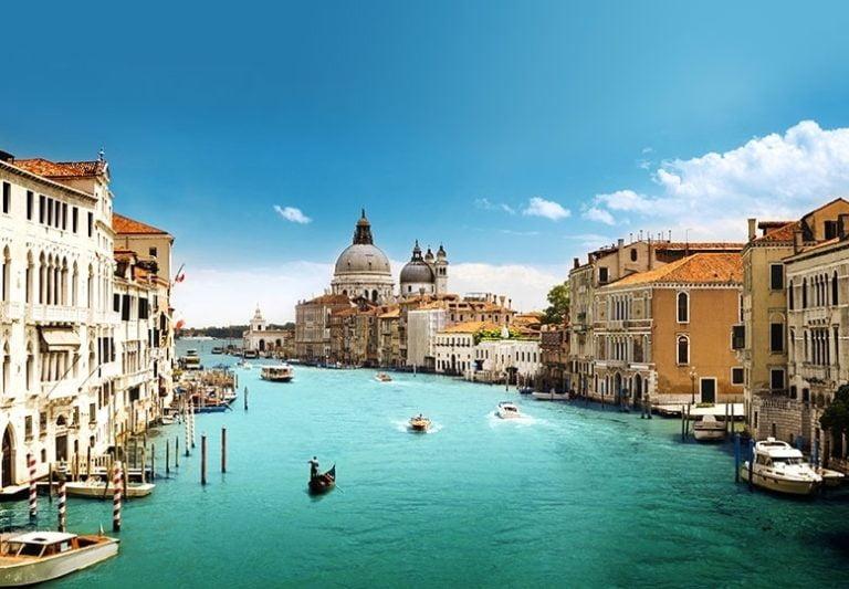 Foto behang Venice Canal Grande 00146