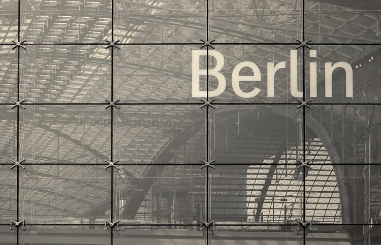 Foto behang Berlin CL01A