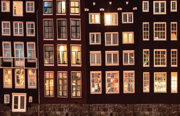 Foto behang Amsterdam CL03A