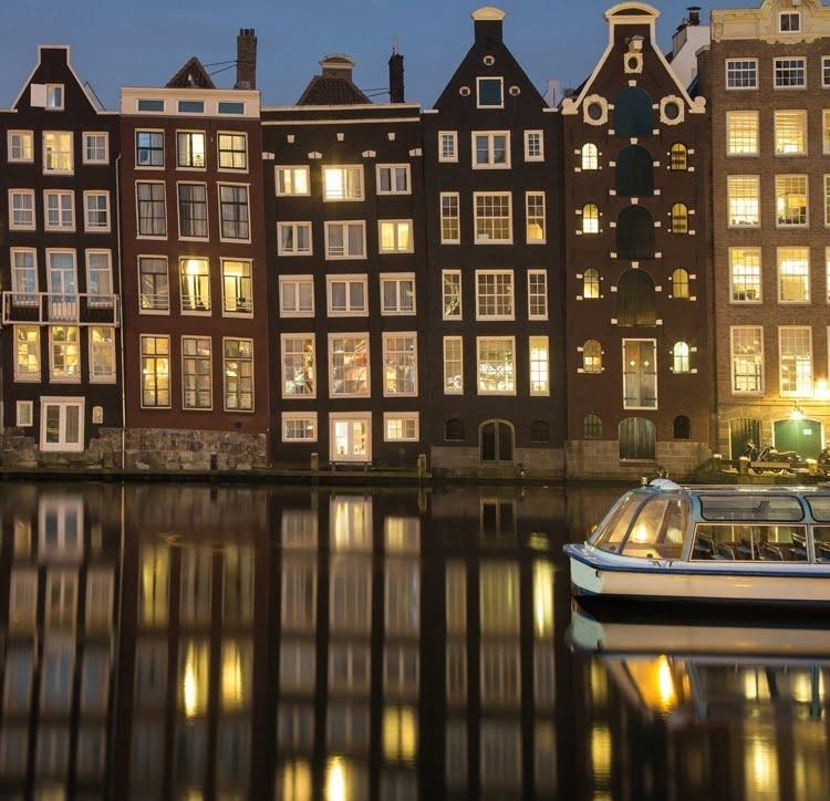 Foto behang Amsterdam CL13A