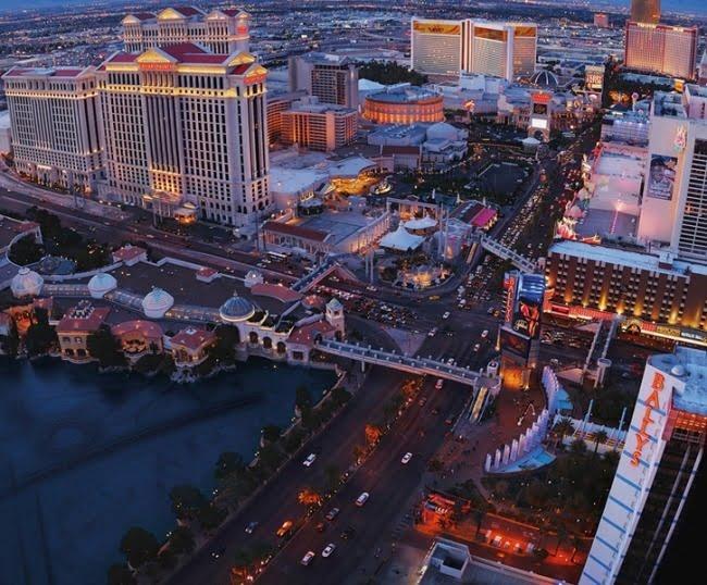 Foto behang las Vegas CL16A