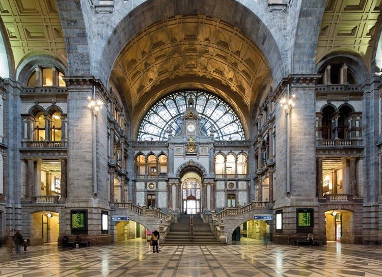 Foto behang Antwerpen CL42A