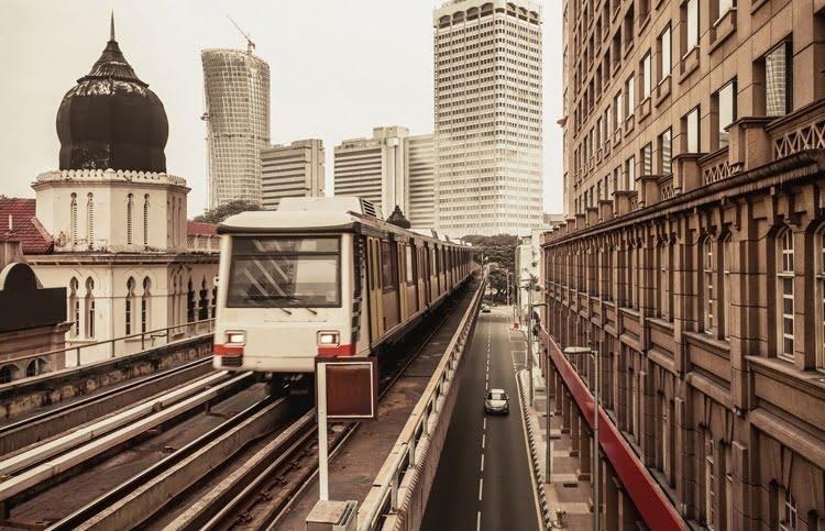 Foto behang Kuala Lumpur CL49A