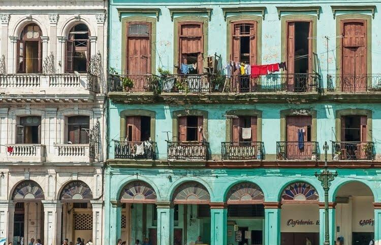 Foto behang Havana CL54A
