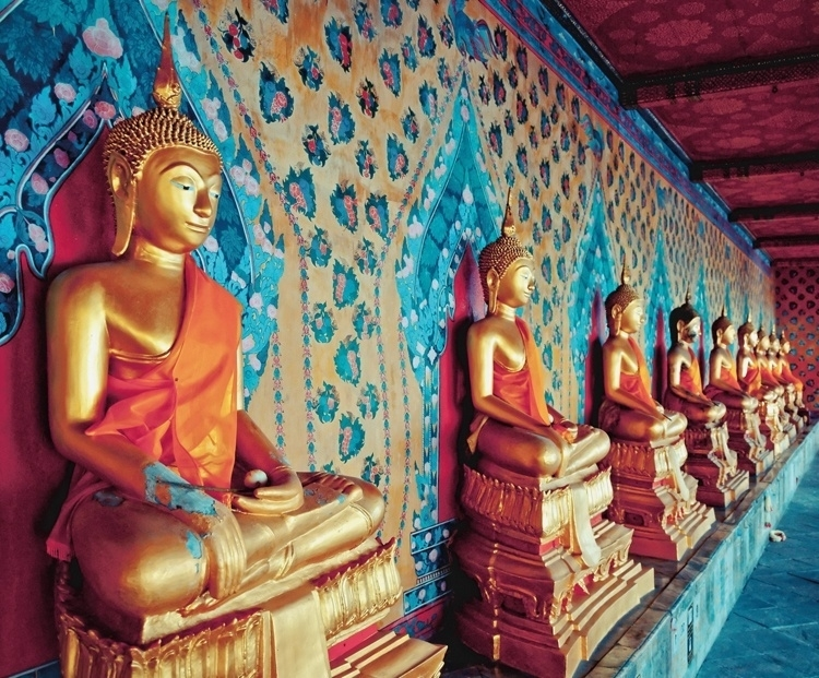 Foto behang Bangkok CL57A