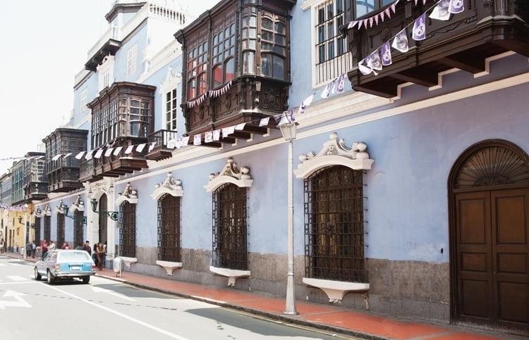 Foto behang Lima CL58A
