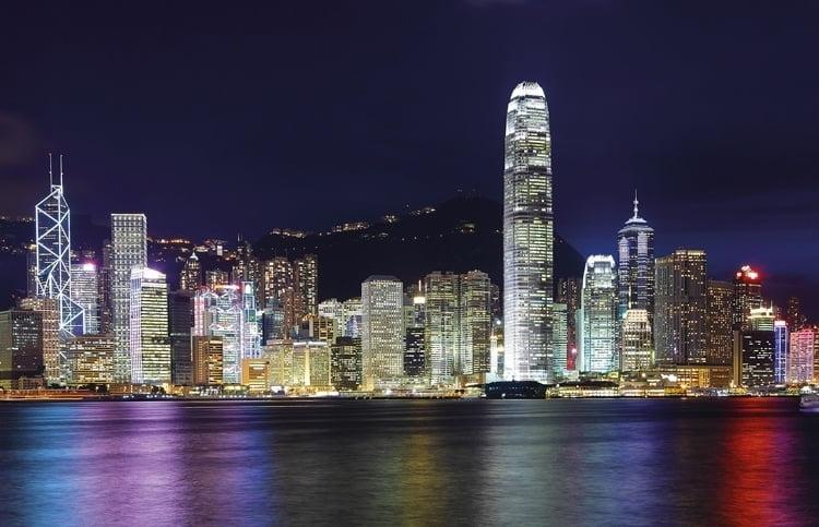 Foto behang Hong Kong CL63A