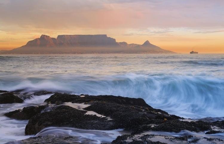 Foto behang Cape Town CL64A