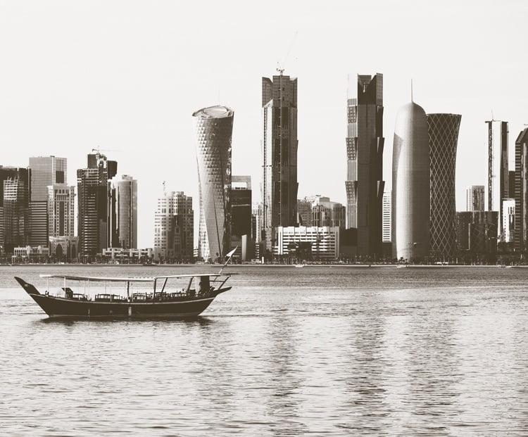 Foto behang Doha CL74A