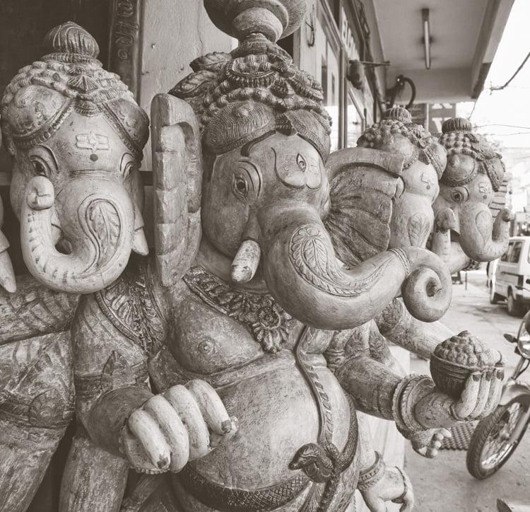 Foto behang Delhi CL75A