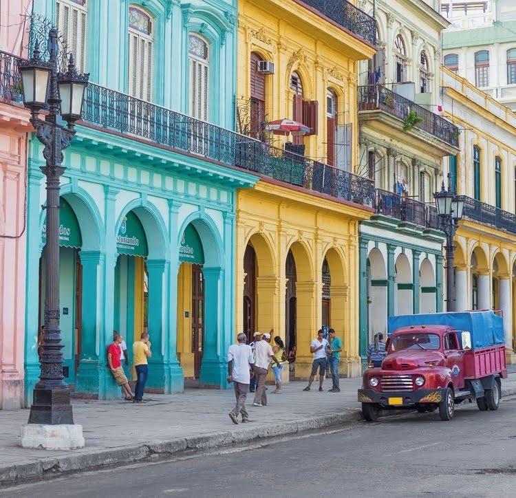 Foto behang Havana CL76A