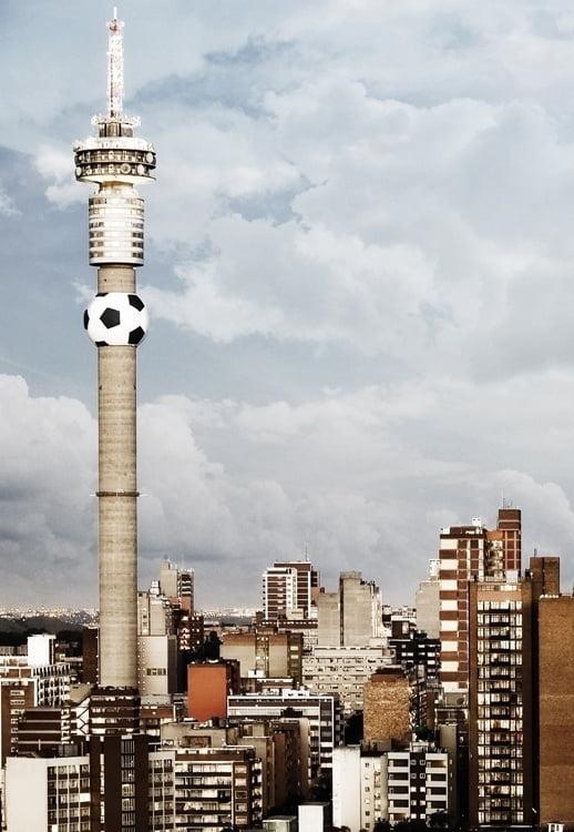Foto behang Johannesburg CL78A
