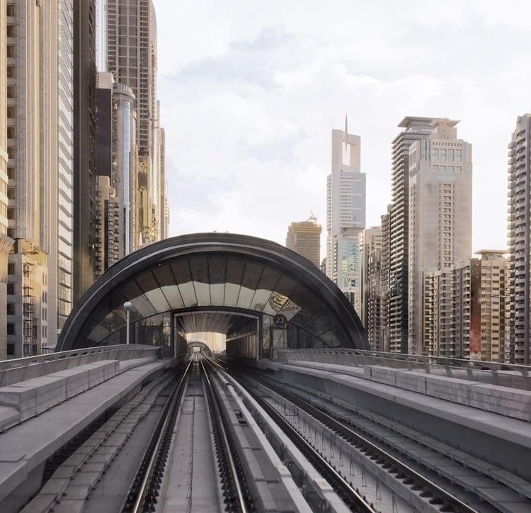 Foto behang Dubai CL84A