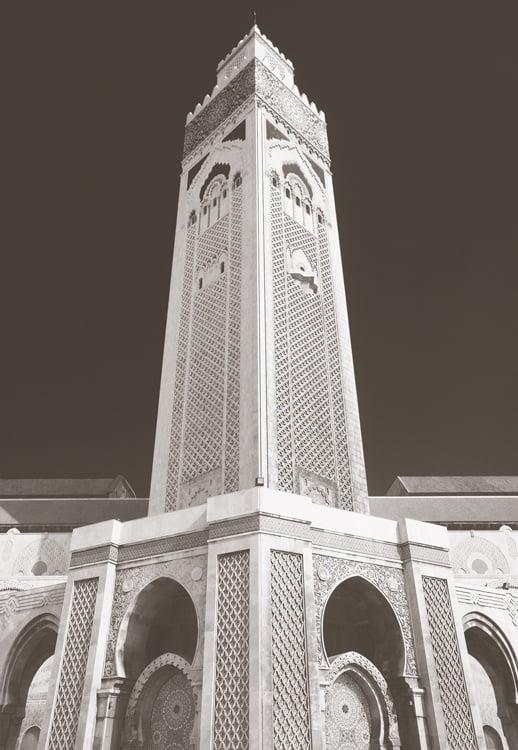 Foto behang Casablanca Hassan Moskee CL88A