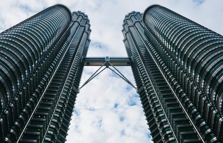 Foto behang Kuala Lumpur CL95A