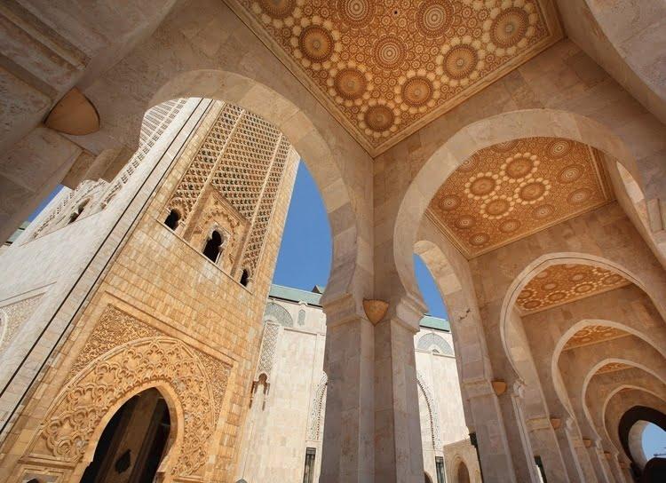 Foto behang Casablanca CL96A