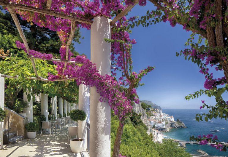 Foto behang Amalfi 8-931