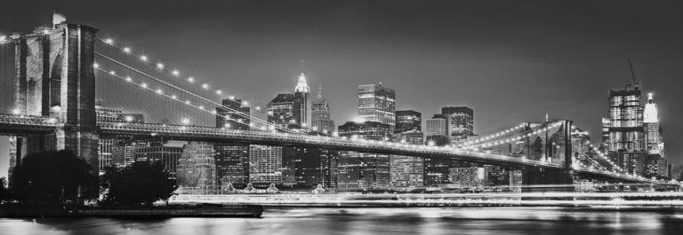 Foto behang Brooklyn Bridge 4-320