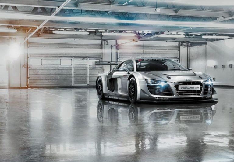 Foto behang Audi r8 Le Mans 8-957