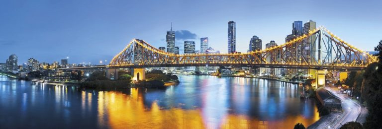 Foto behang Brisbane xxl2-010