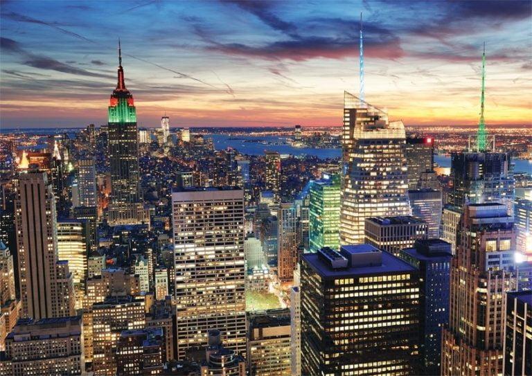 Foto behang New York 45149
