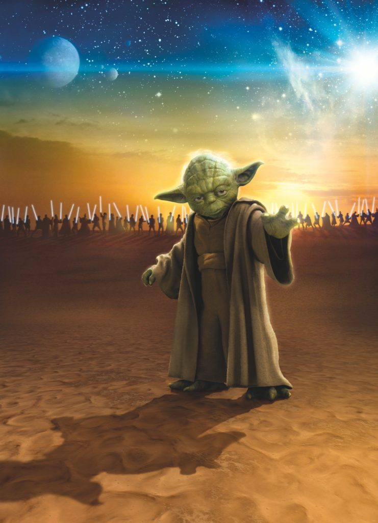 Foto behang Star Wars Master Yoda 4-442