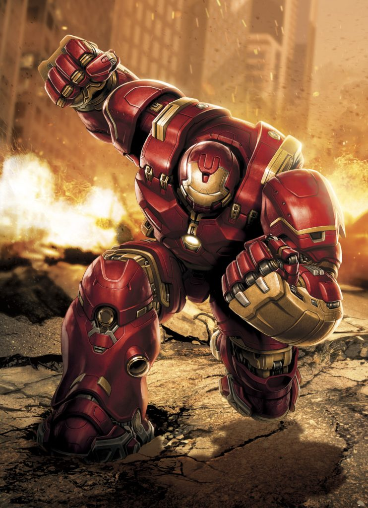 Foto behang Avengers Hulkbuster 4-457