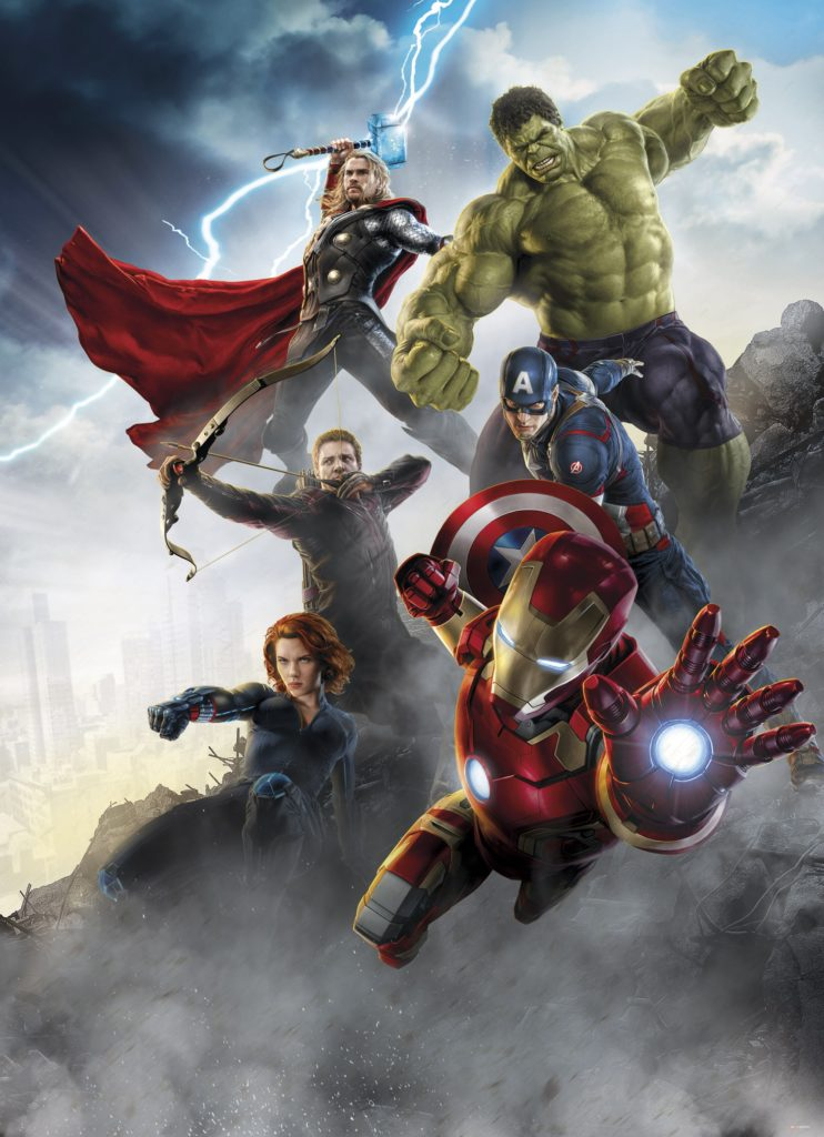 Foto behang Avengers Age of Ultron 4-458
