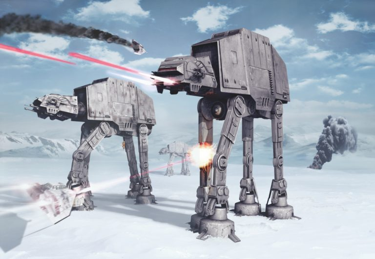 Foto behang Star Wars Battle of Hoth 8-481