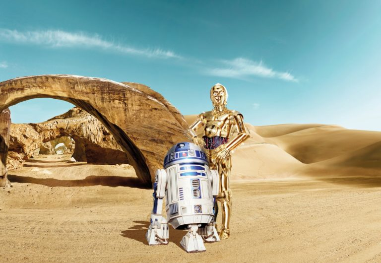 Foto behang Star Wars Lost Droids 8-484