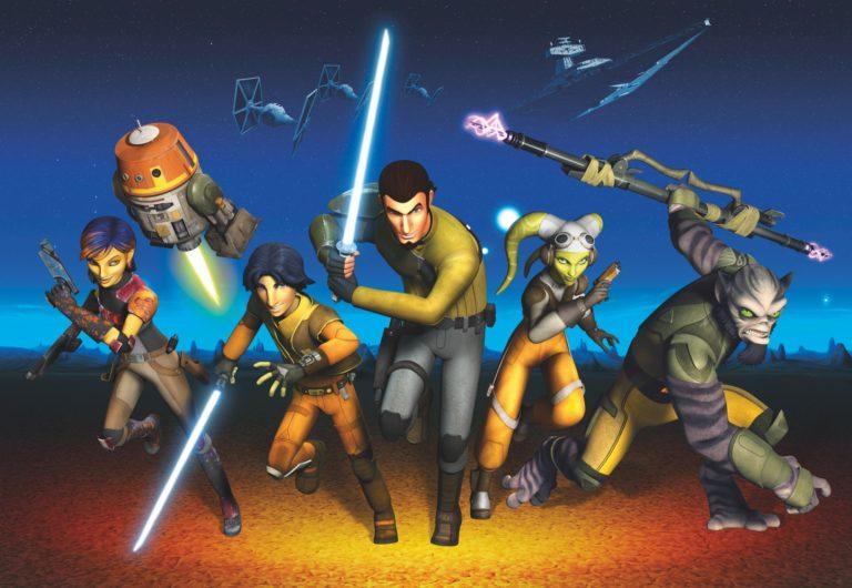 Foto behang Star Wars Rebels Run 8-486