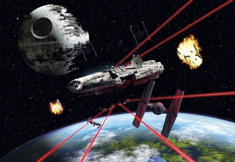 Foto behang Star Wars Millenium Falcon 8-489