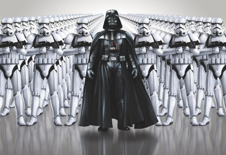 Foto behang Star Wars Imperial Force 8-490