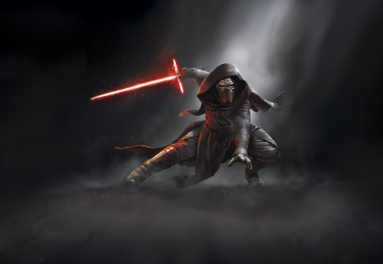Foto behang Star Wars Kylo Ren 8-491