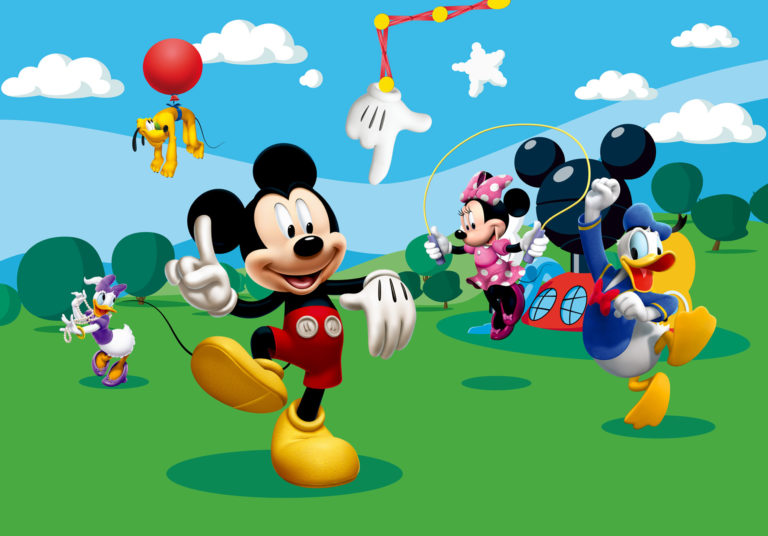 Foto behang Mickey Mouse FTD0253
