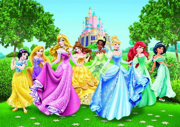 Foto behang  Disney Princesses FTD2207