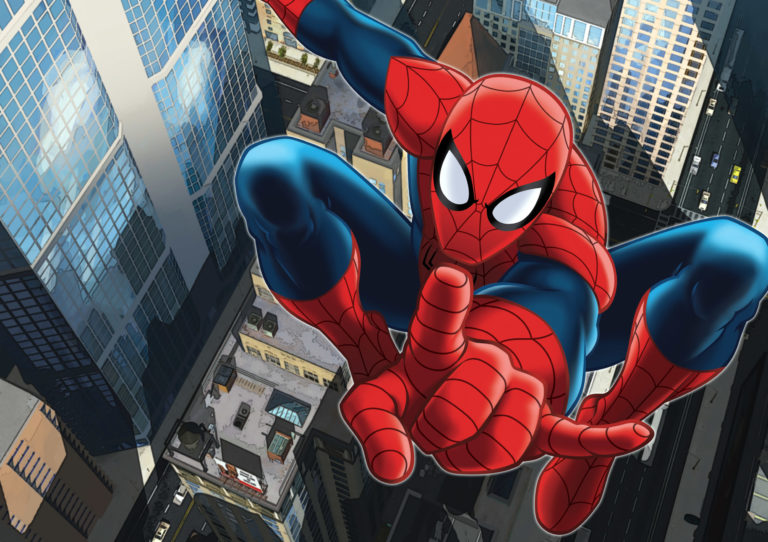 Foto behang Marvel Spiderman FTD2209