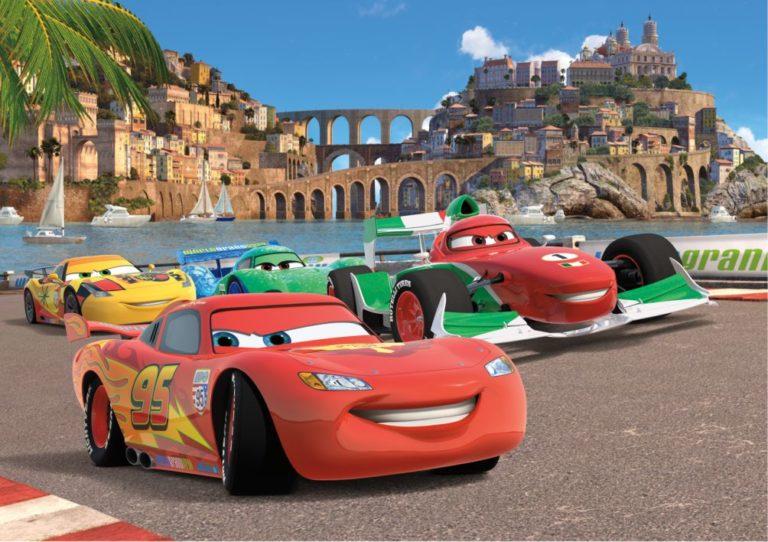 Foto behang Cars Race FTD2221