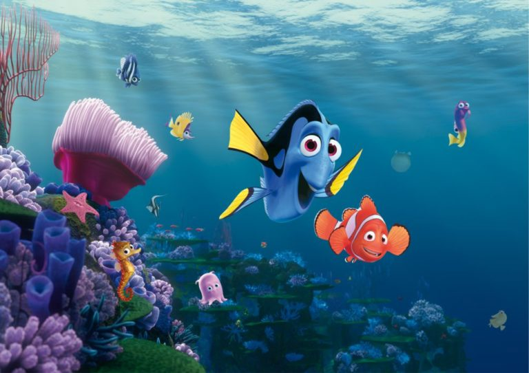 Foto behang Disney Nemo FTD2223