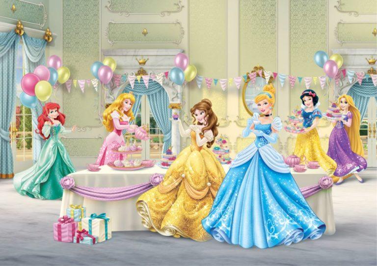 Foto behang Disney Princess Celebrate FTD2224