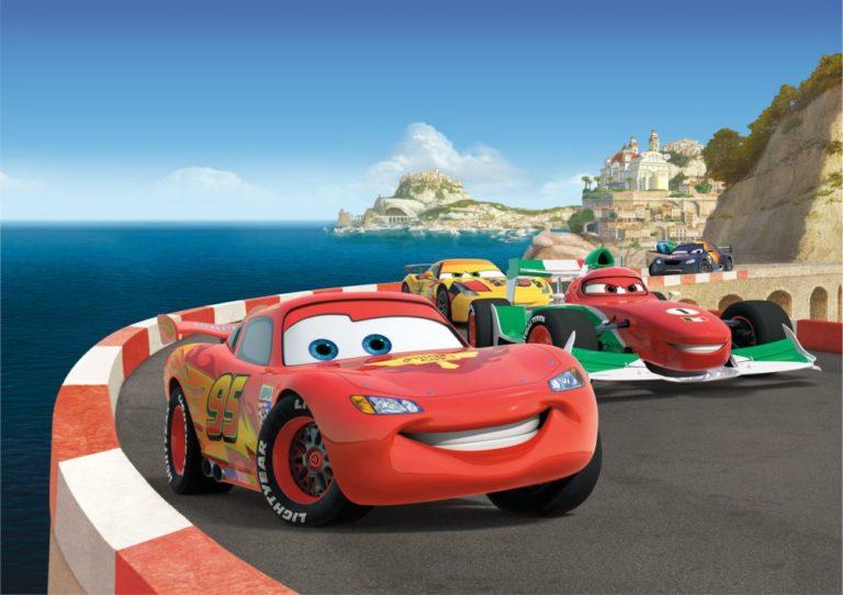 Foto behang Disney Cars Race FTDS1924