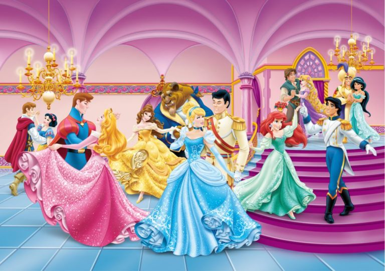 Foto behang Disney Princess Carnival FTDS1928
