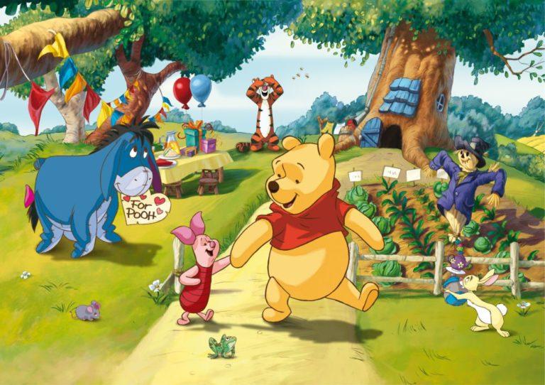 Foto behang Disney Winnie the Pooh FTDS1938